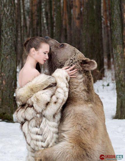 Think, Bear fur strips