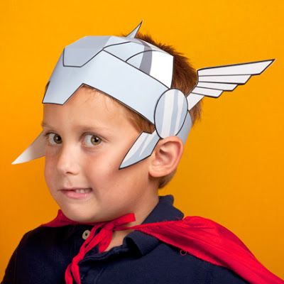 The Avengers Printable Mask