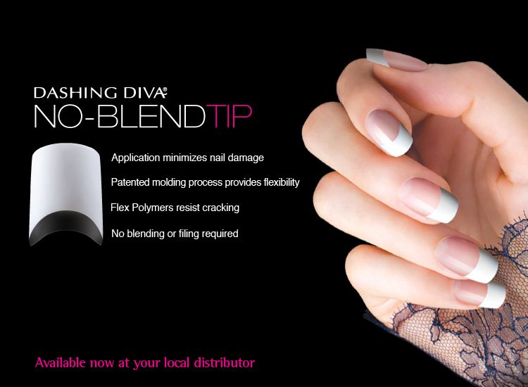Dashing Diva\'s No-Blend Tip   Dashing Diva Nails   Pinterest   Diva ...