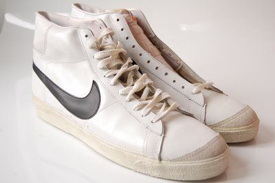 hot sale online f71cc e1f40 Vintage Nike Blazer Hi Top (1980) Sneakers Shoes | Clothes I ...