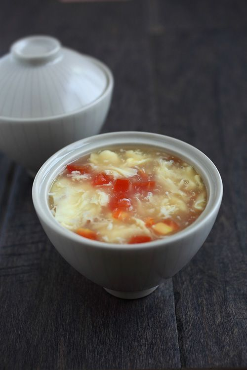 Amazingly yummy shrimp with spicy garlic sauce recipe great egg drop soup quick and simple chinese soup recipe with eggs tomatoes and chicken broth takes 10 mins much better than takeout forumfinder Images