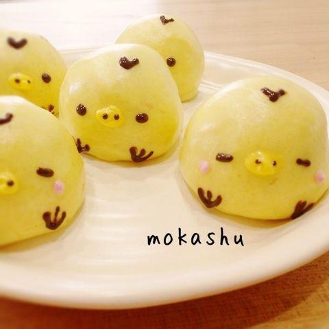 Kiiroitori manju ♥ Dessert