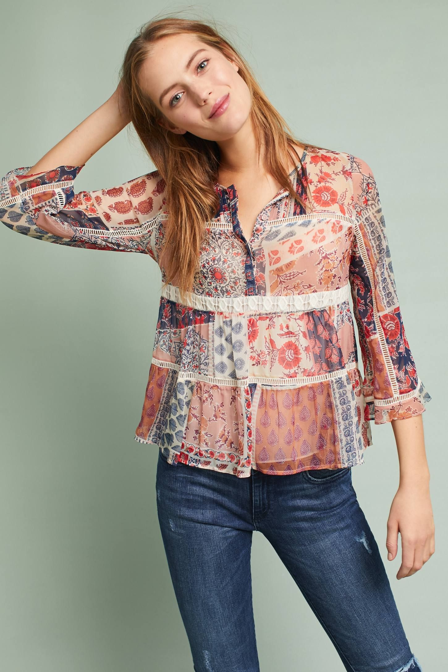 Shop the Cecilia Peasant Top and more Anthropologie at Anthropologie today. Read customer reviews, discover product details and more.