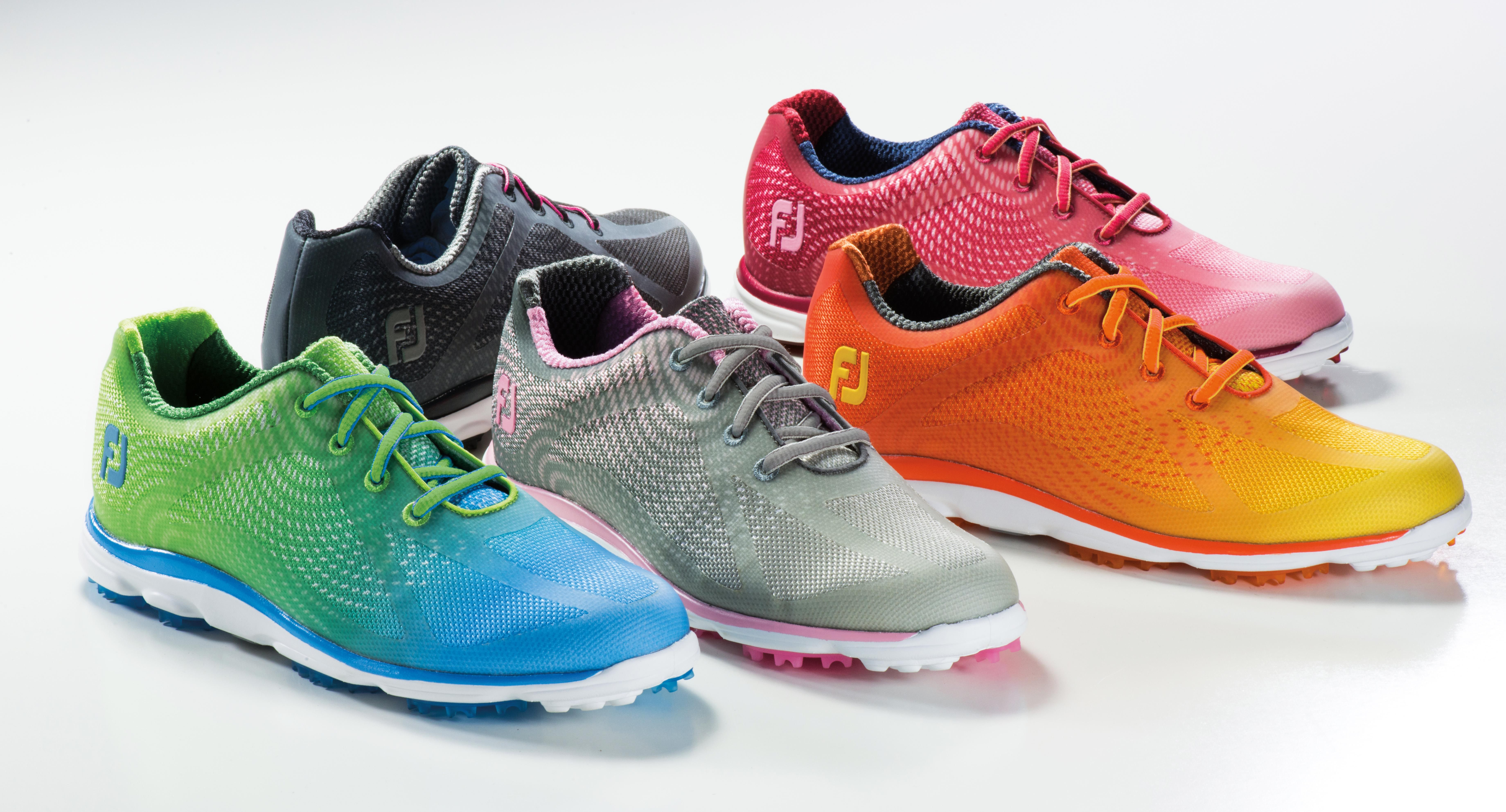 Fj S Empower Women S Shoes Are A Very Colorful And Comfortable Shoe For Anyone Golf Shoes Footjoy Womens Golf Shoes