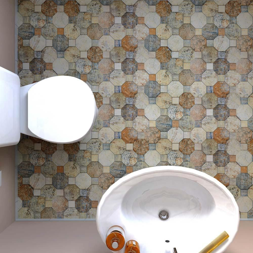Merola tile silex decor 17 34 in x 17 34 in ceramic floor and merola tile silex decor 17 34 in x 17 34 in ceramic floor and wall tile 1787 sq ft case multilow sheen dailygadgetfo Images
