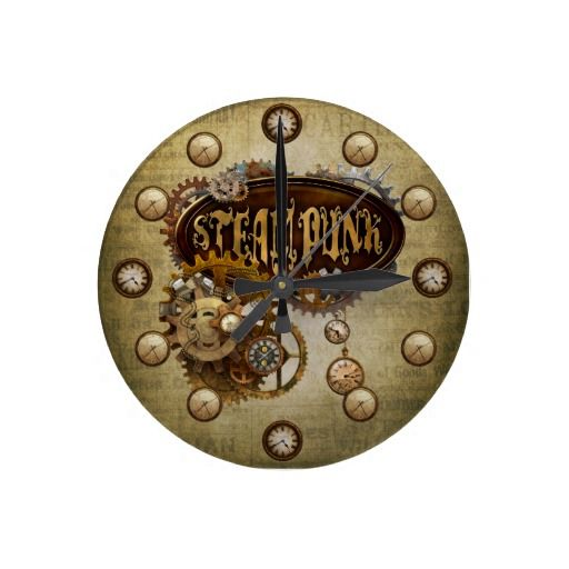 Steampunk Clocks ClockMechanical EngineeringWall