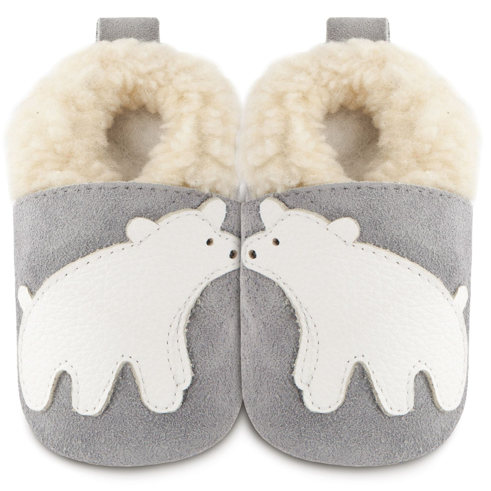 acheter populaire 59380 449fa Chaussons bébé Ours des neiges (6-12 mois) | for son ...