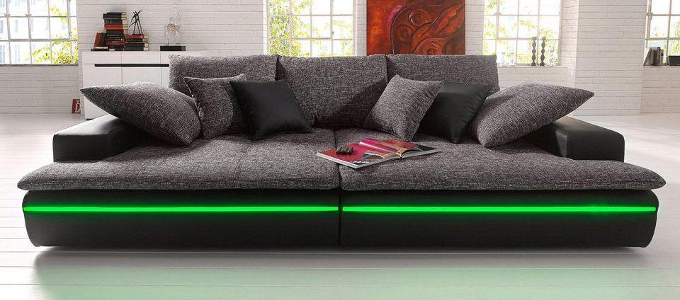 Big-Sofa, wahlweise in 2 Größen Big sofas and Big - big sofa oder wohnlandschaft