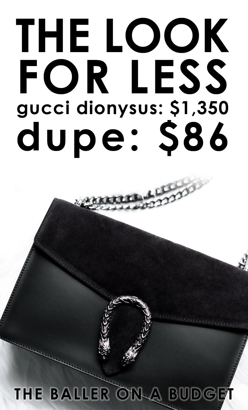 6cb6b201940 Designer Dupe  Gucci Dionysus Bag -  1