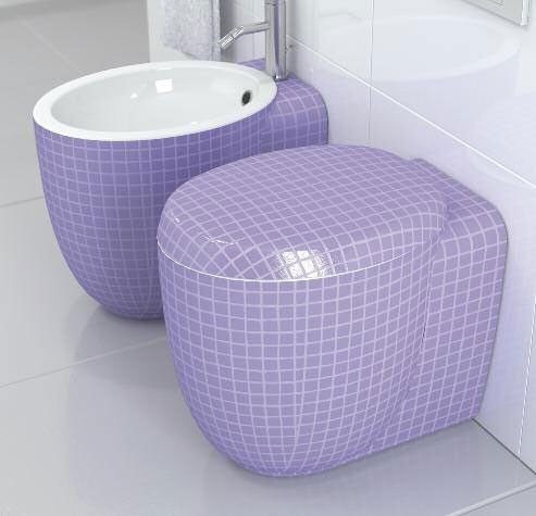 Amazing Toilets And Bidets Collection From Stile | Purple Bathrooms,  Passion And Purple Stuff Pictures Gallery