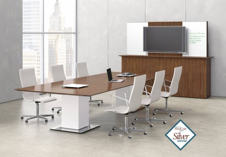 Nucraft - Elevare - Sit-to-stand Conference table with ...