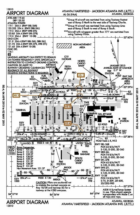 Atlanta Airport Diagram Georgia The Empire State Of The South
