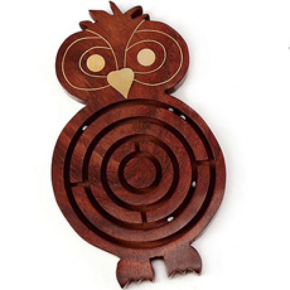 Animal labyrinth game