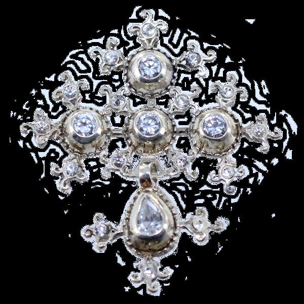 bague diamant d'alençon