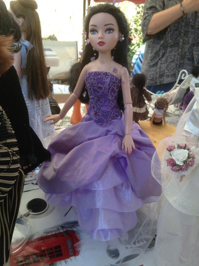 RENCONTRE CATALANE SOUS LE SOLEIL - Reproduction robe de mariée de ma fille
