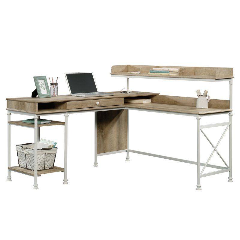 Wondrous Oakside L Shape Executive Desk With Hutch In 2019 Desk Download Free Architecture Designs Scobabritishbridgeorg