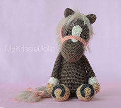 Horse Piem Pattern By Kristel Droog Amigurumi Community