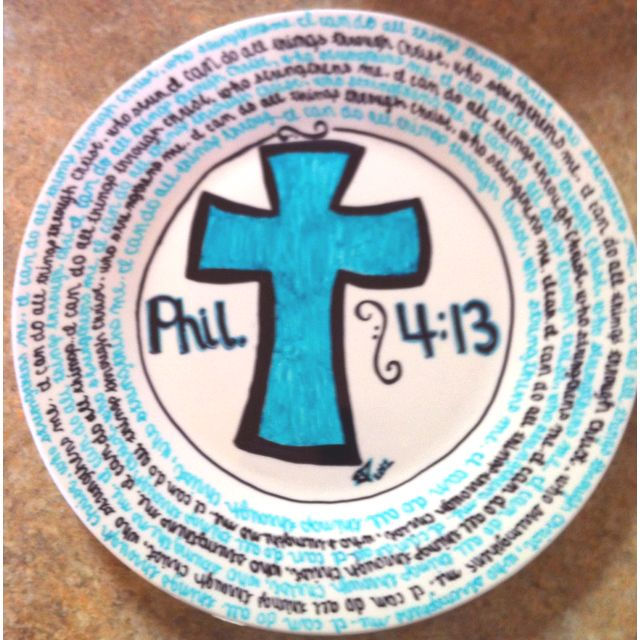 DIY decorated plate. Made with a plate and sharpie markers baked in the oven  sc 1 st  Pinterest & DIY decorated plate. Made with a plate and sharpie markers baked in ...