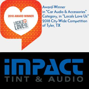 Impact Tint And Audio Is An Award Winner In The 2018 Locals Love
