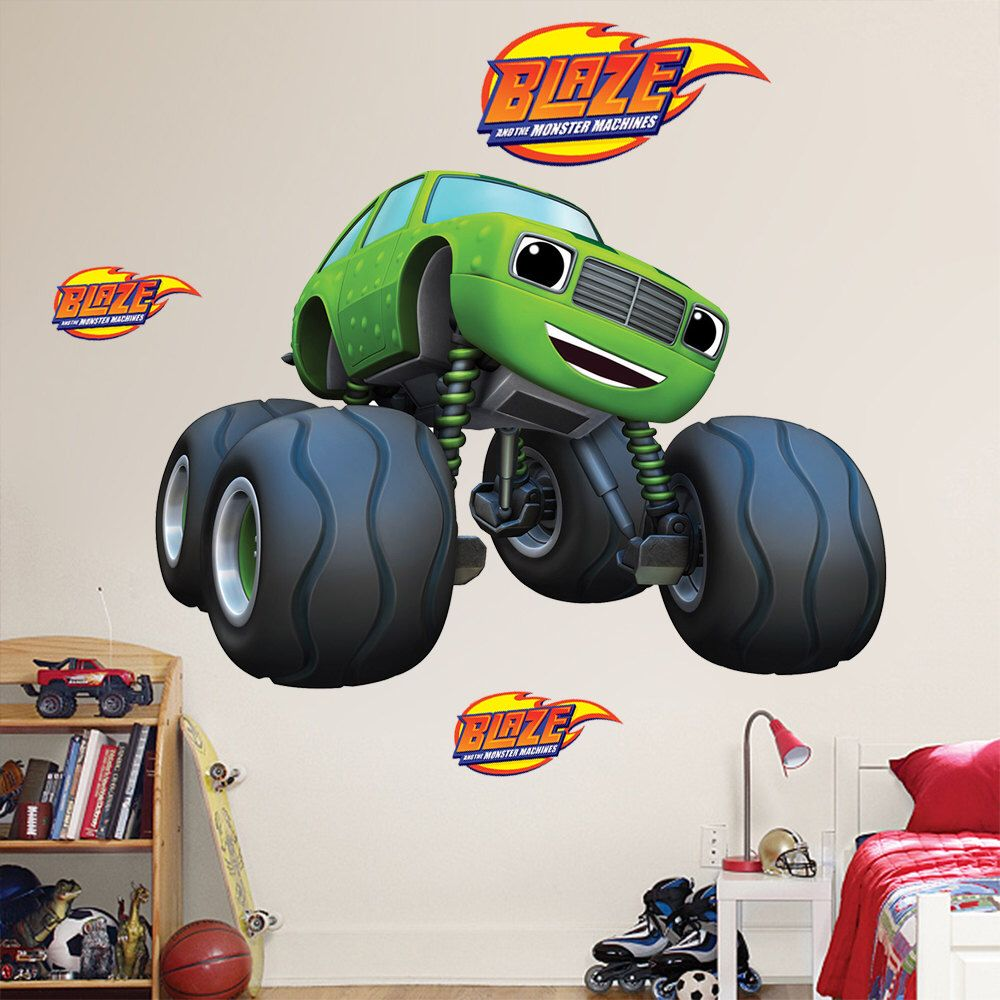 Blaze and the monster machines pickle mini monster truck wall blaze and the monster machines pickle mini monster truck wall sticker huge large small amipublicfo Gallery