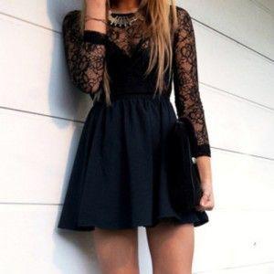 Vestidos elegantes para chicas jovenes