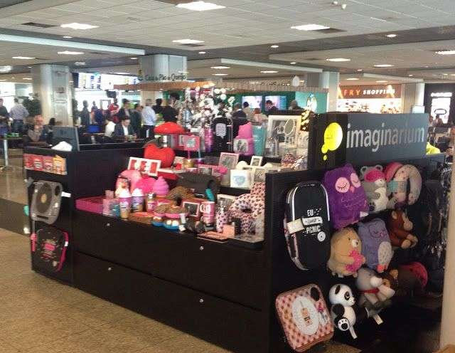 Chic e Fashion: Imaginarium no aeroporto