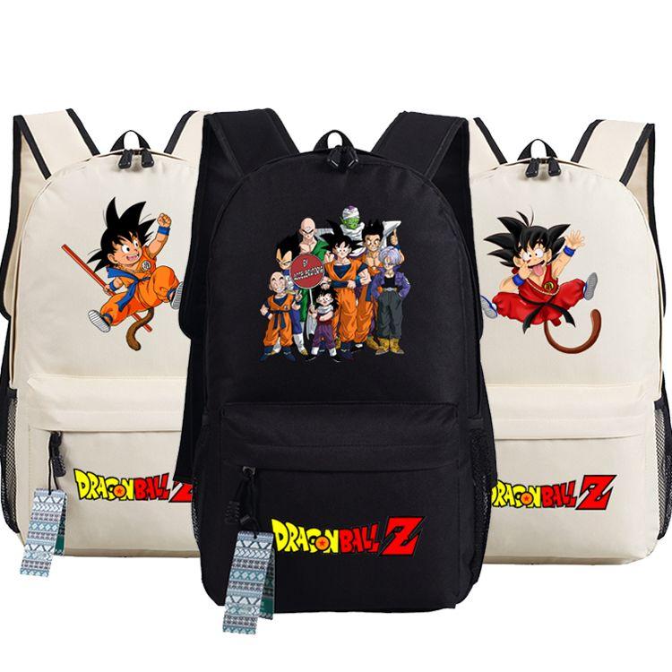 new dragon ball z backpack anime son goku oxford schoolbags fashion unisex travel bag - Cartable Dragon Ball Z