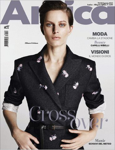 Amica Magazine [Italy] (August 2013) Ellinore Erichsen