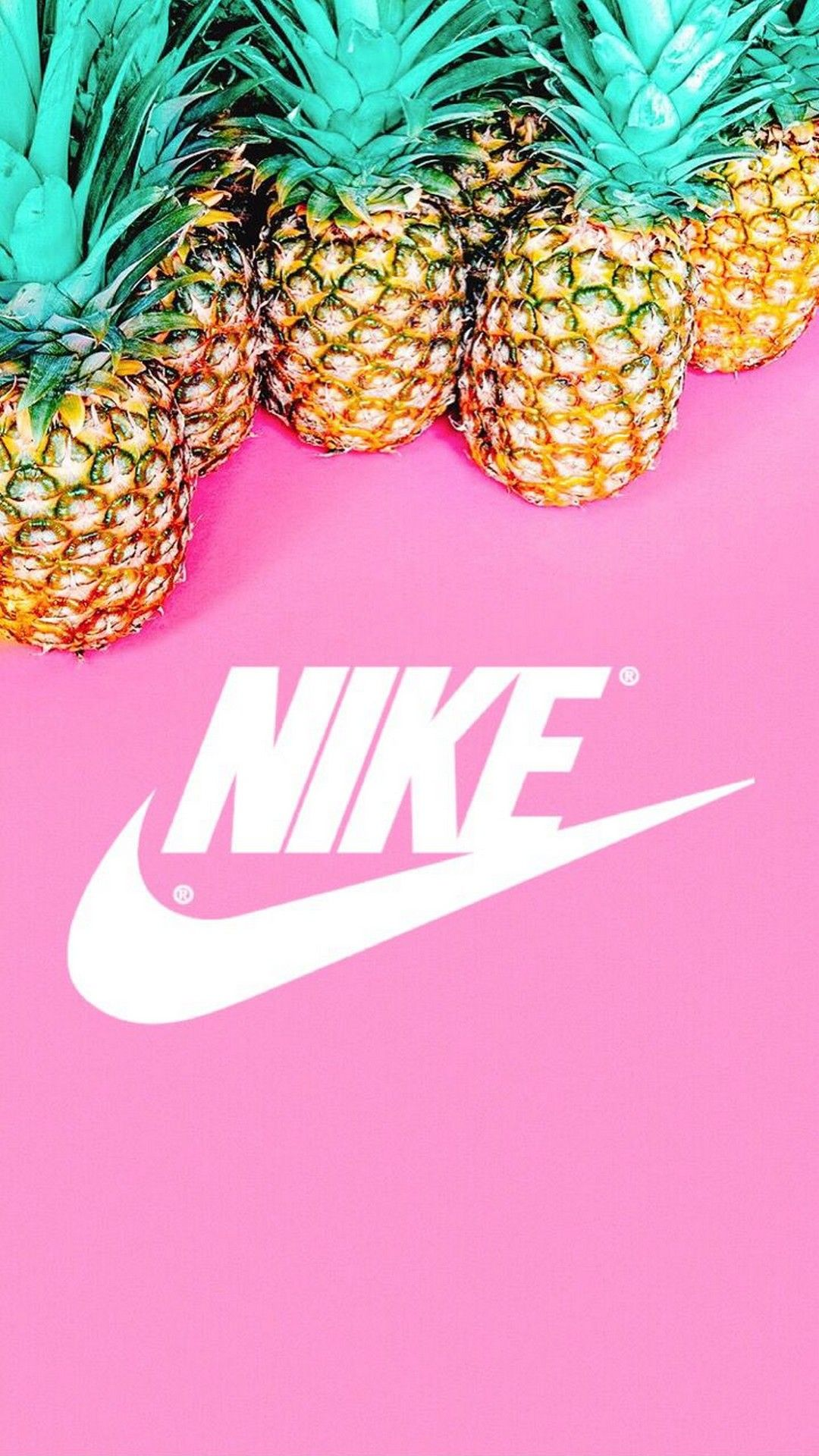 Nike Pineapple Pink Background Best Iphone Wallpaper Adidas Wallpapers Nike Wallpaper Iphone Pineapple Wallpaper