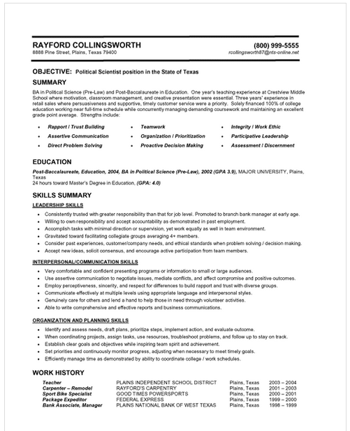 Comprehensive Article On How To Make A Resume Included Format Fonts Layout Categories Verbs And More Templates Examples