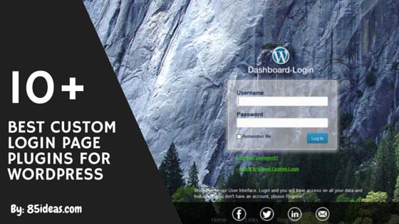 10 Best Custom Login Page Plugins for WordPress // #WordPress ...