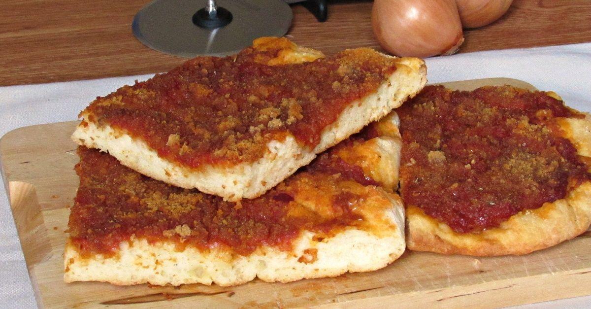 Sfincione palermitano ricetta tradizionale e senza glutine   Il chicco di mais
