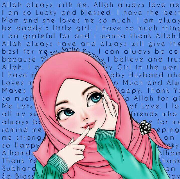 Zoemoon adlı kullanıcının Hijab art panosundaki Pin