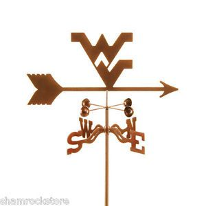 Details about West Virginia University Mountaineers Weathervane w/ Mount Choice #wvumountaineers