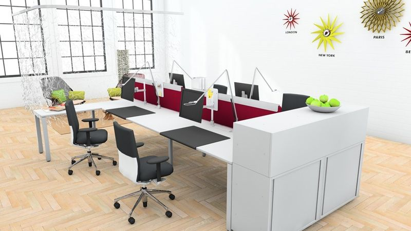 Workit desking by vitra project bench pinterest for Office design vitra