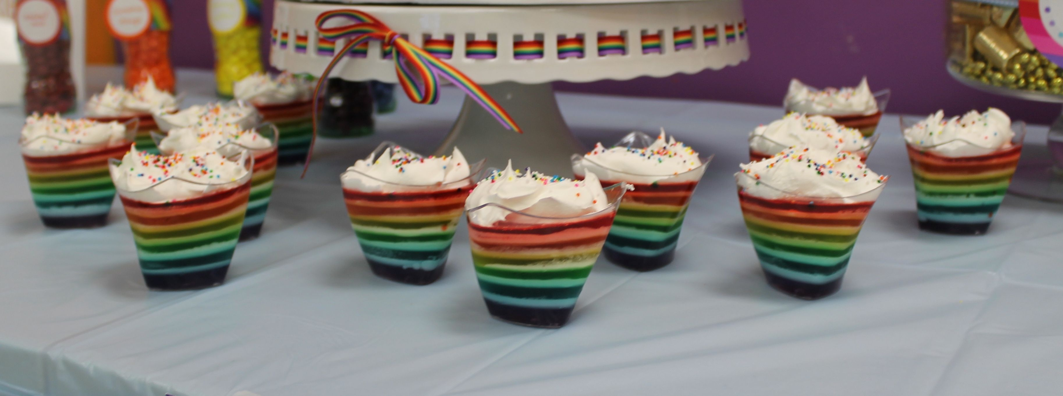 Rainbow gelatine