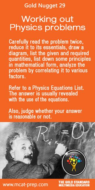 Mcat Study Tips For Mcat Physics Gold Standard Mcat Prep Httpwww