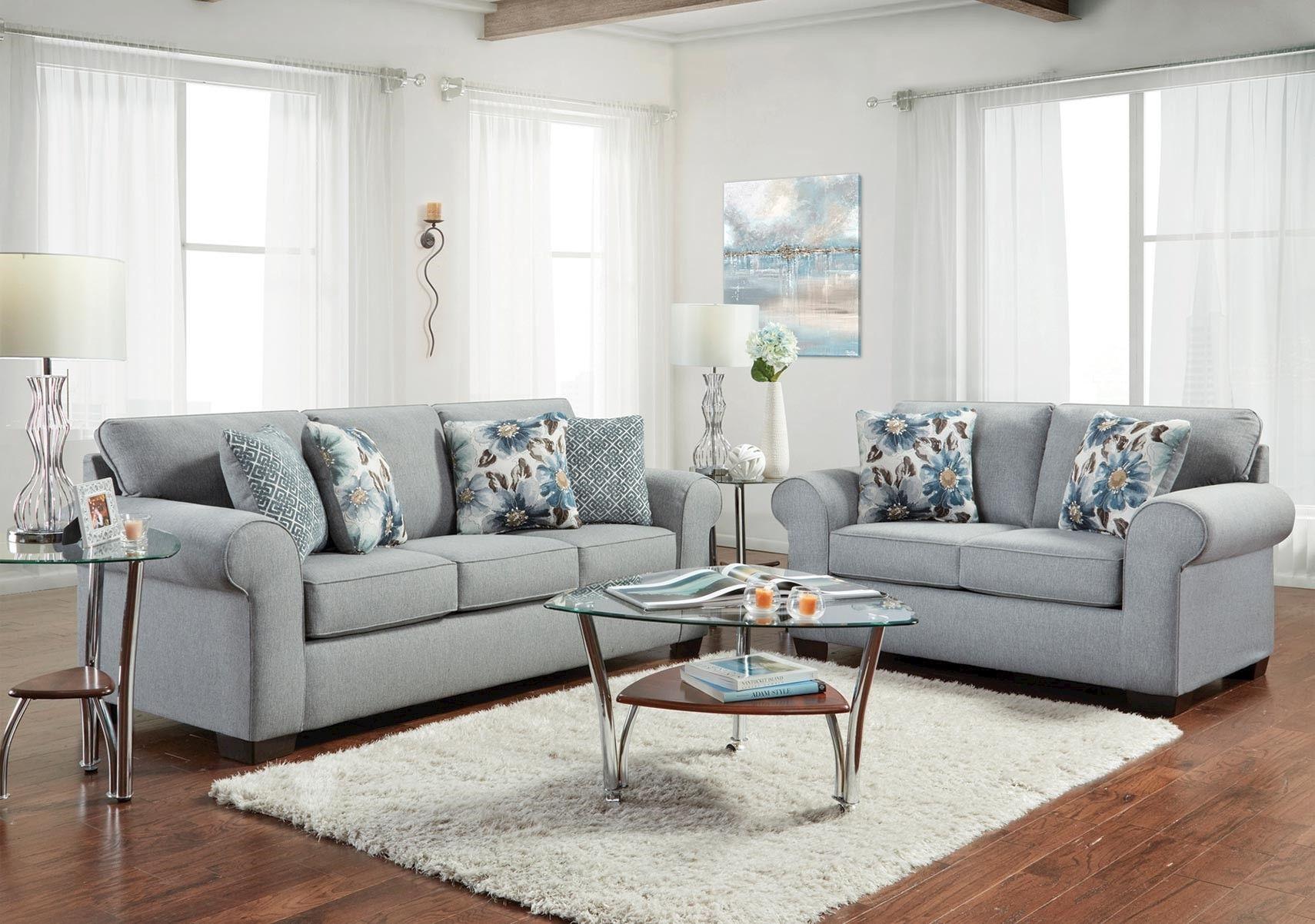 Lacks Katerina 2 Pc Living Room Set Sofa And Loveseat Set Loveseat Sofa Living Room Sets #upholstered #living #room #sets