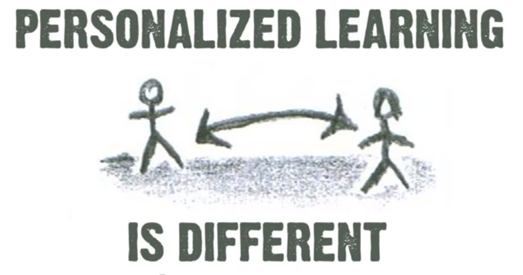 personalized learning means individualization and differentiation