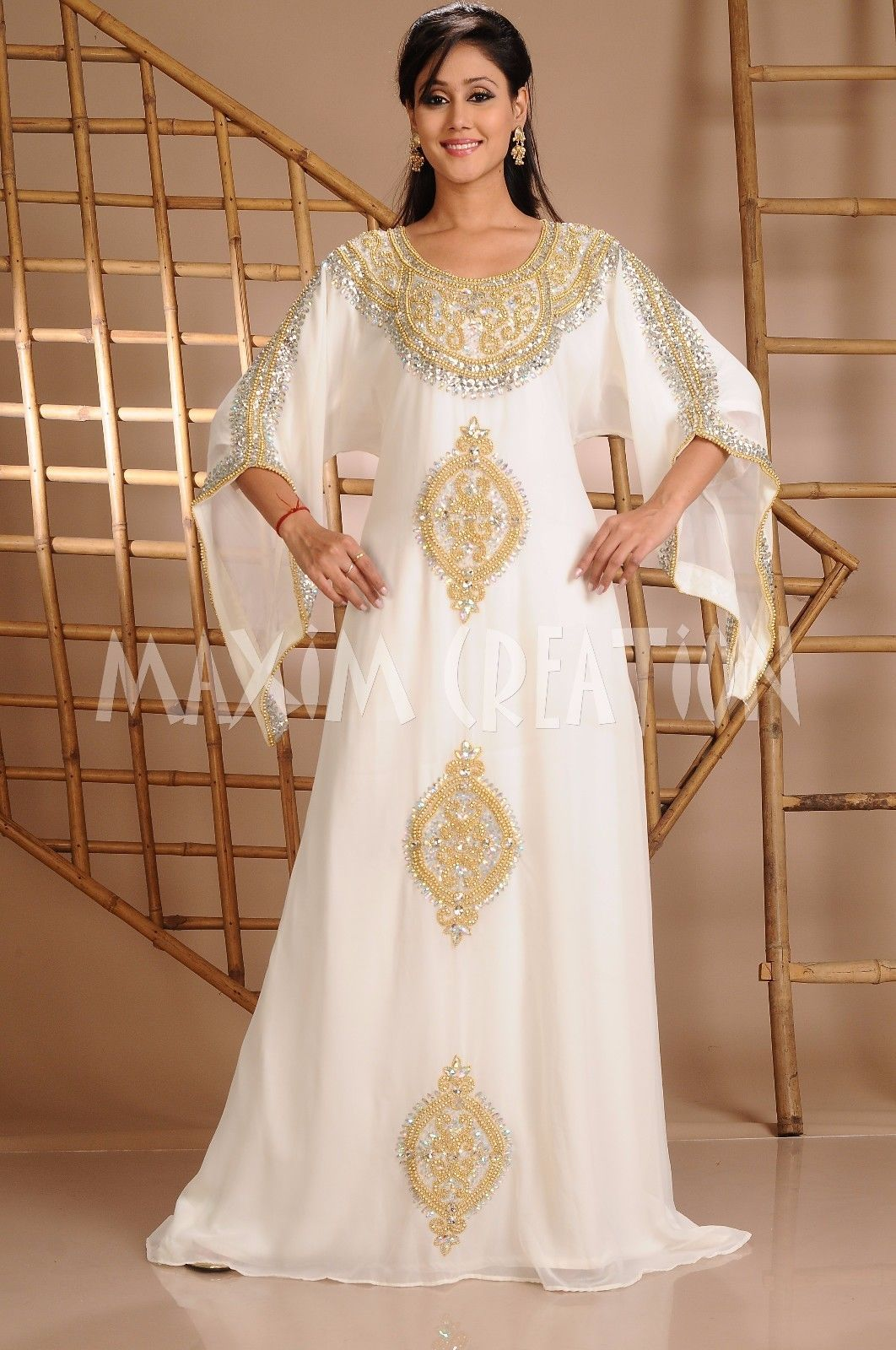 Dubai moroccan abaya jalabiya kaftan wedding gown fancy maxi islamic
