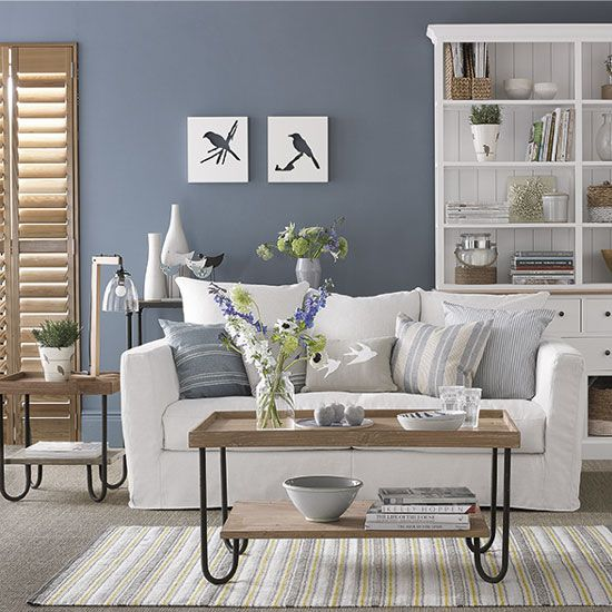Our favourite perma trends simple country gris azulado - Paredes color gris ...