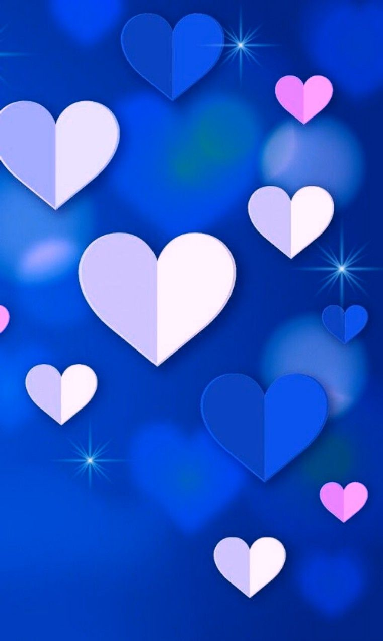 Pin By My Info On Blue Blue Blue Heart Iphone Wallpaper Valentines Wallpaper Heart Wallpaper