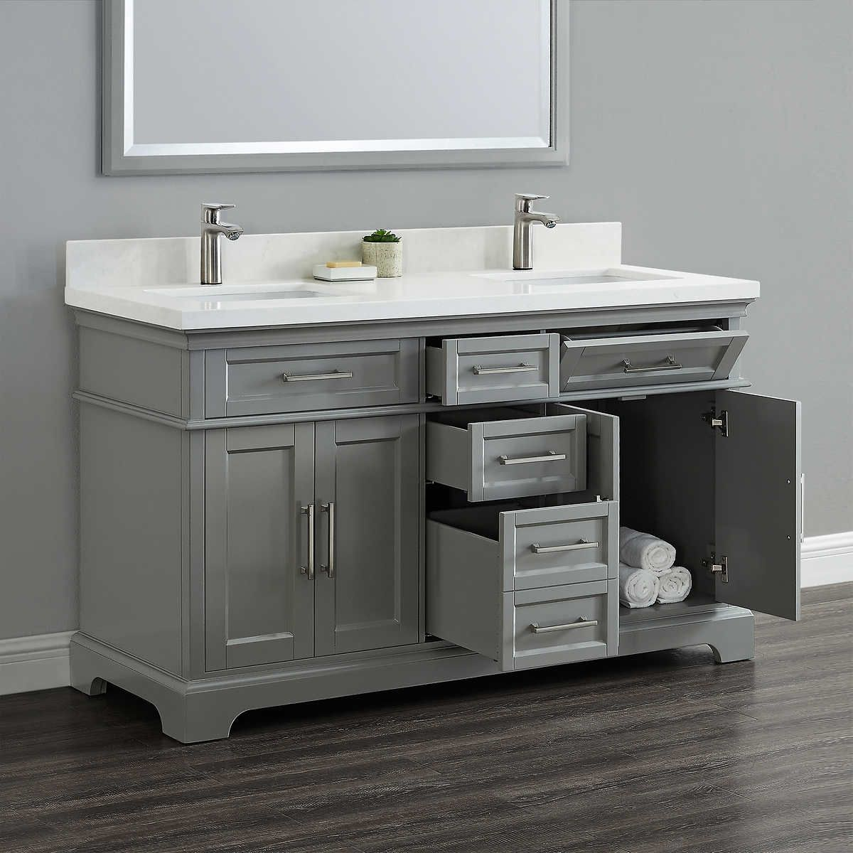 Pin By Dawn Grady On Shower Double Sink Vanity Vanity Sink Vanity