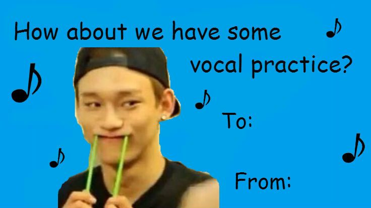 EXO Valentines Day Cards     Pinterest  Exo