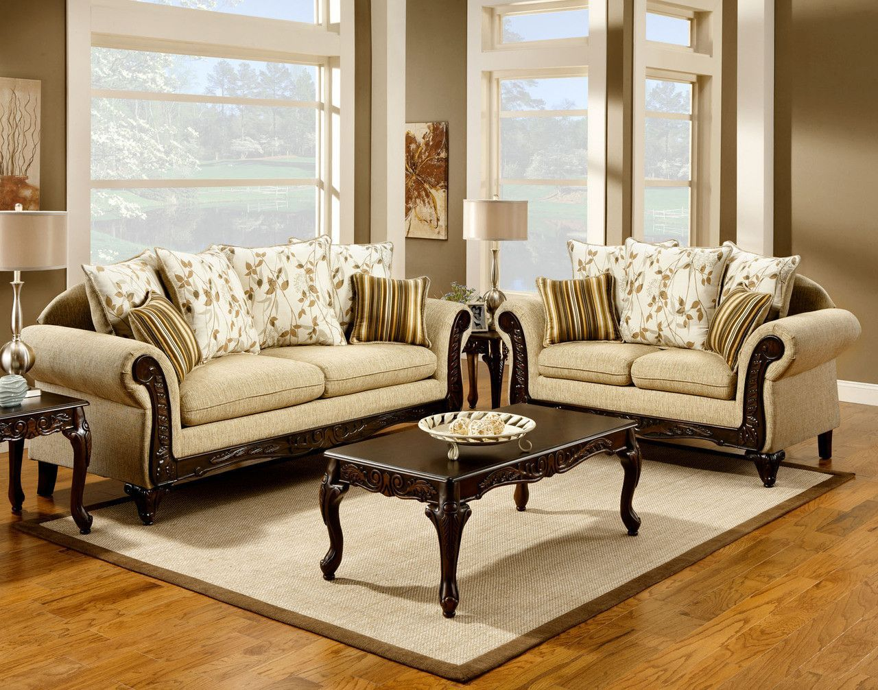 Sm7435 Sofa Love Seat Set Products Pinterest # Muebles Victorianos Baratos