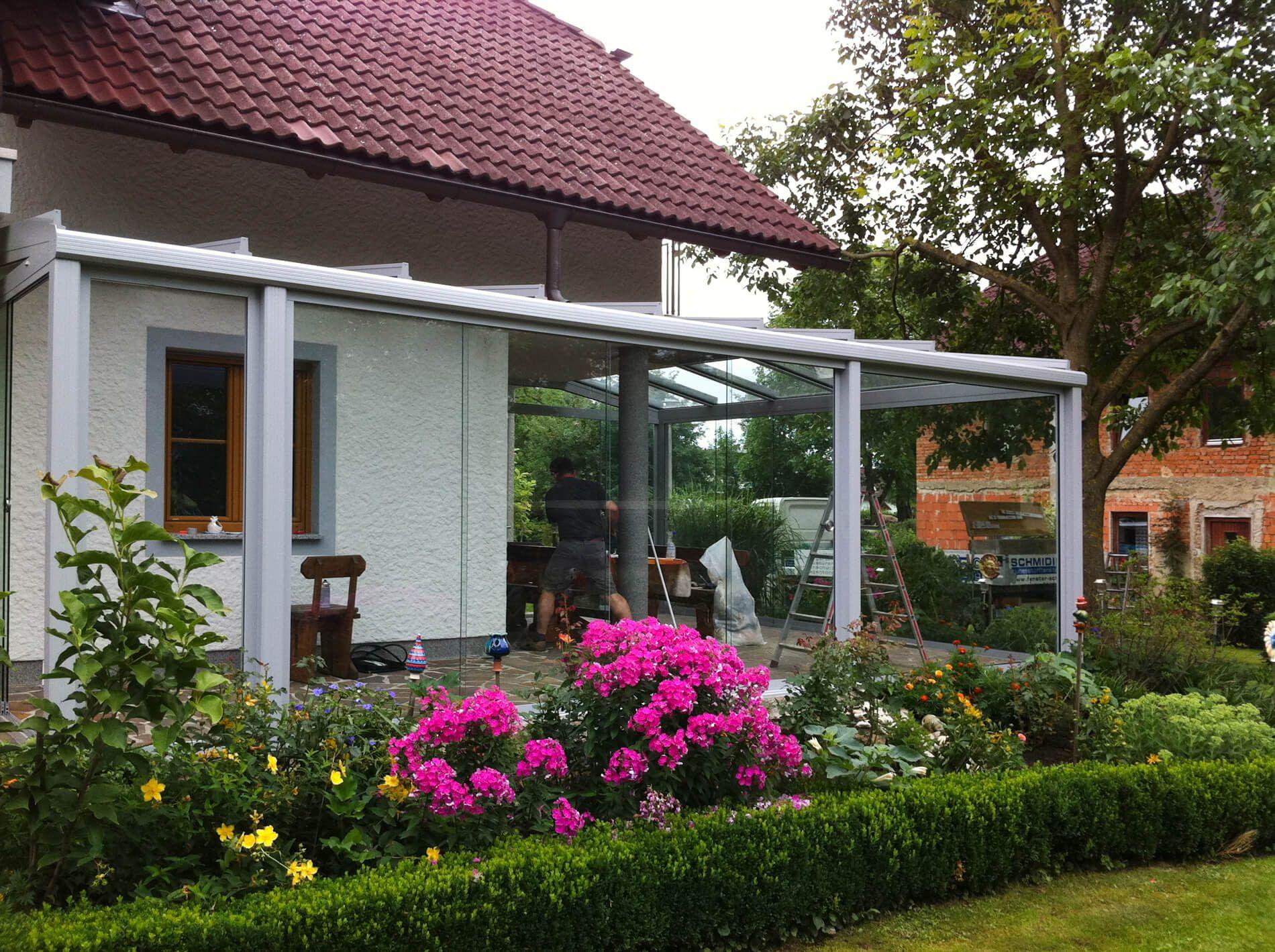 Falttüren Terrasse - Idealer Wetterschutz für den Außenbereich ...