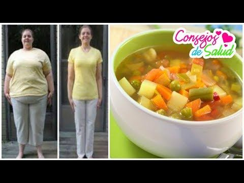 Sopa para bajar de peso en 7 dias en