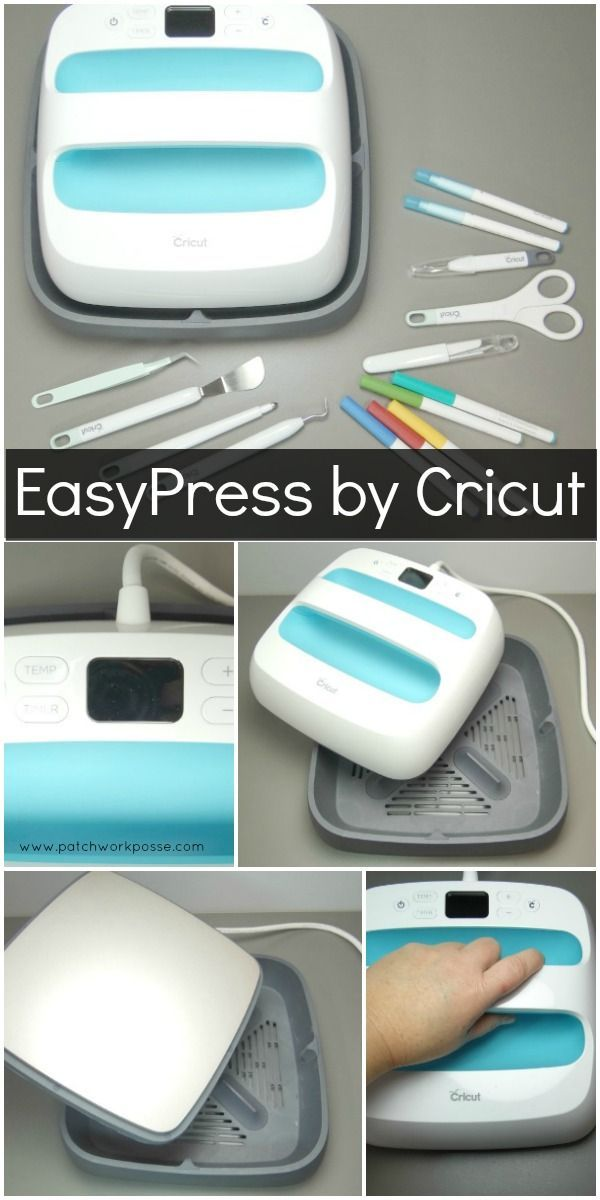 How to Use the Easypress by Cricut - i love this machine!!!