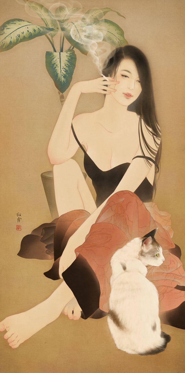 紹介せずにはいられない!イラストレーター 松浦シオリさんをご存知でしょうか?現代女性の美人画を中心に制作活動をされていて、書籍装画の分野においても活躍しているアーティストさんです。松浦さんの作品を初めてみた時、もうこれはJapaaanで紹介…