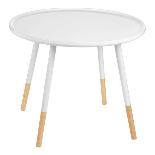 Darby Side Table Norden Home Finish: White